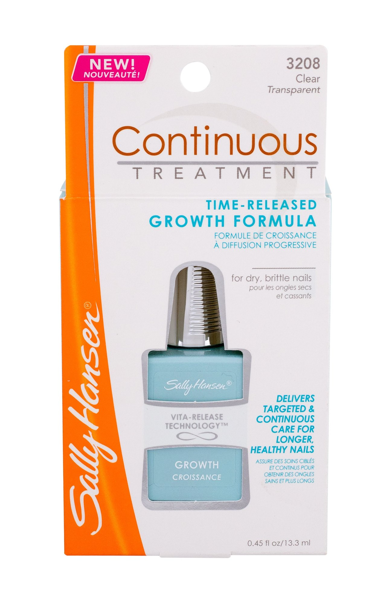 Sally Hansen Continuous Treatment Nail Care 13,3ml