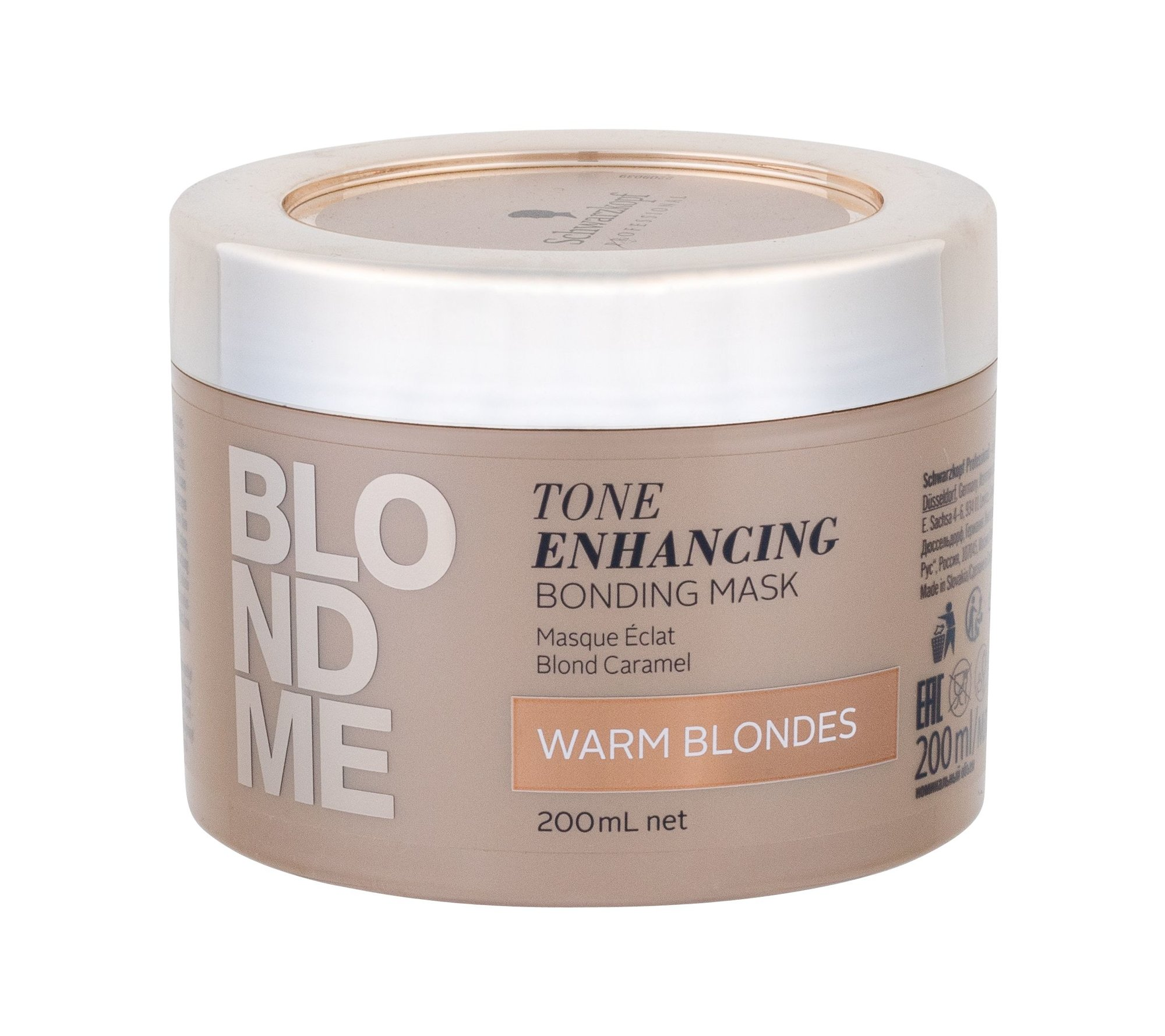 Schwarzkopf Blond Me Hair Mask 200ml Warm Blondes