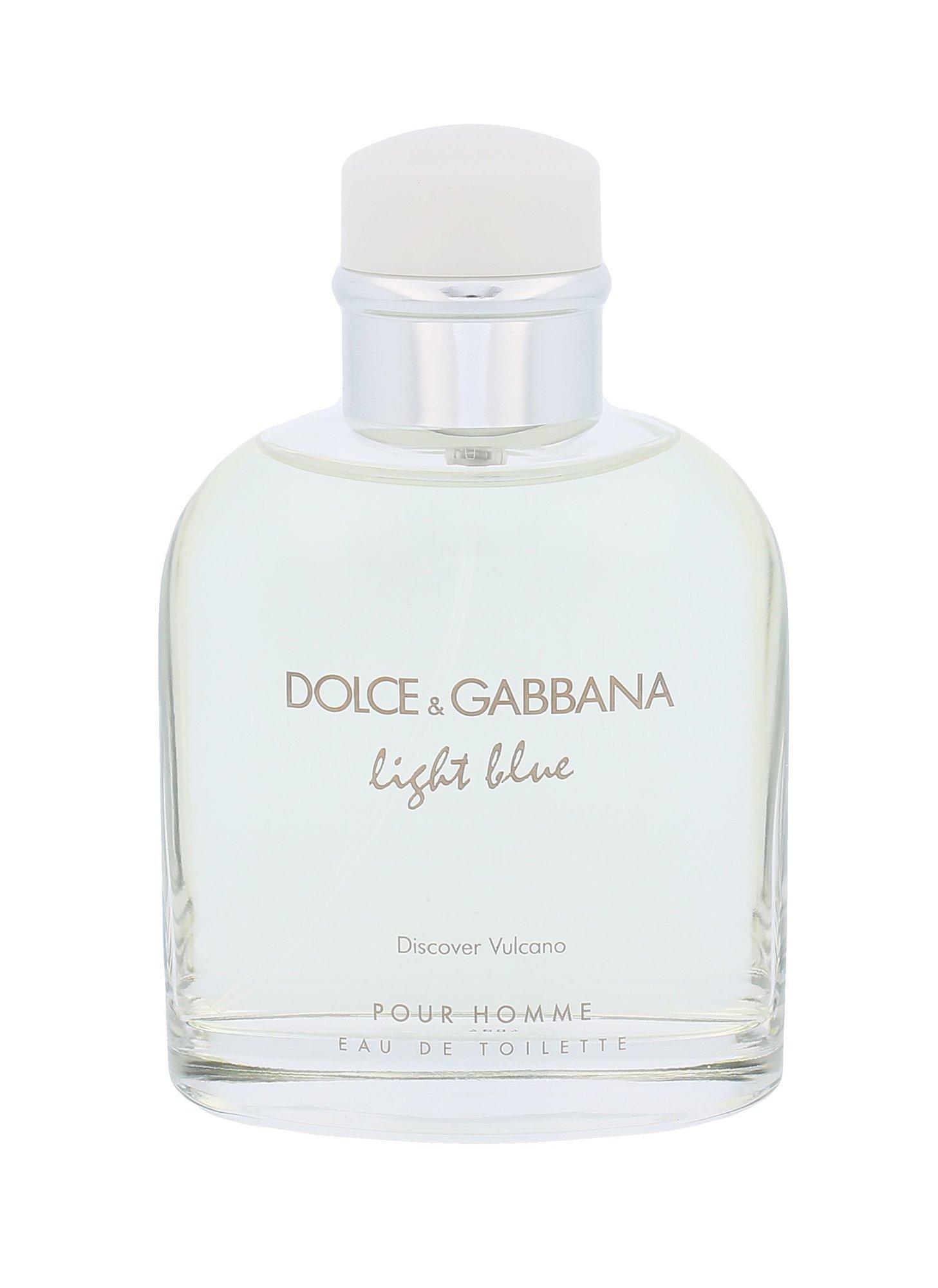 Dolce&Gabbana Light Blue Discover Vulcano Pour Homme Eau de Toilette 75ml