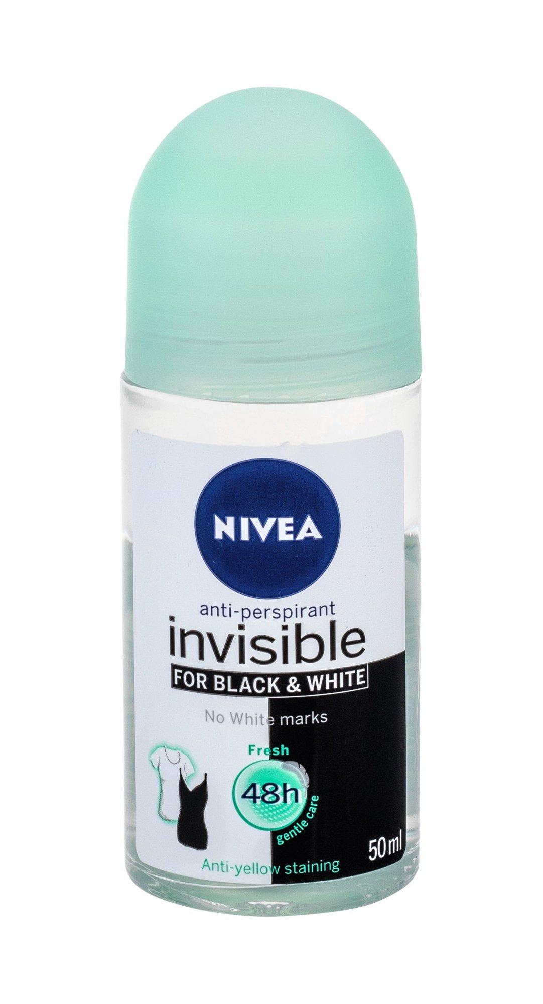 Nivea Invisible For Black & White Antiperspirant 50ml