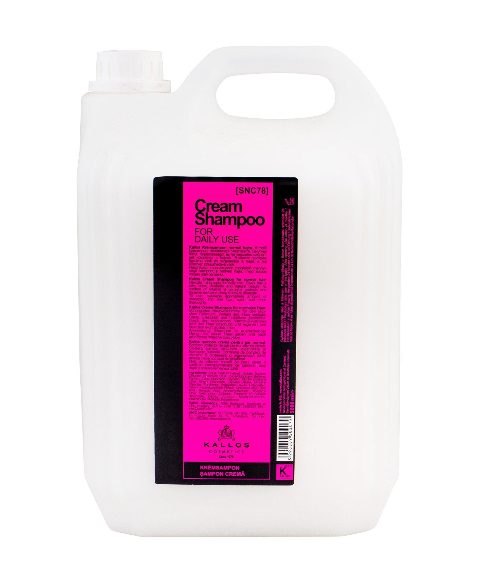 Kallos Cosmetics Cream Shampoo 5000ml