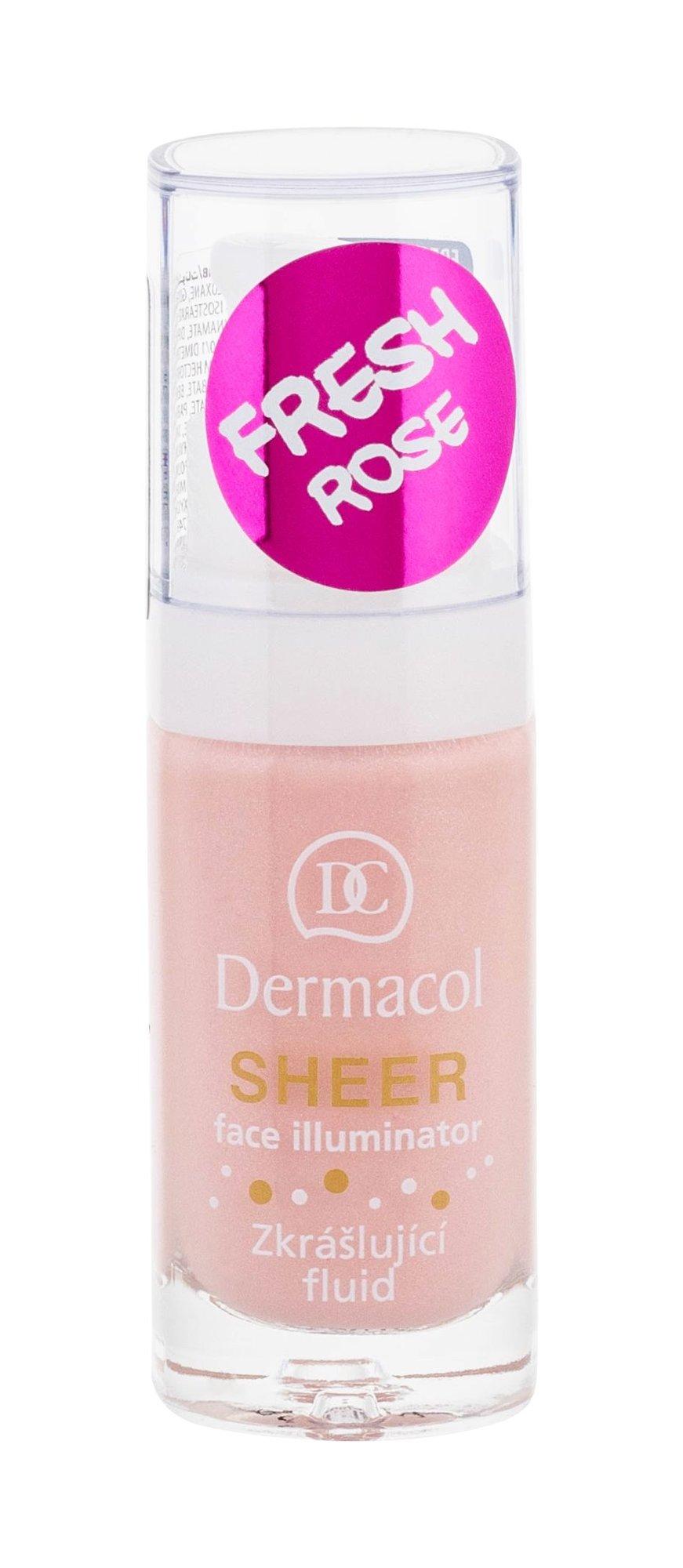 Dermacol Sheer Makeup Primer 15ml fresh rose