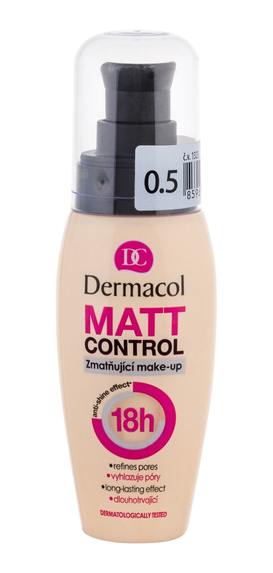 Dermacol Matt Control Makeup 30ml 0.5