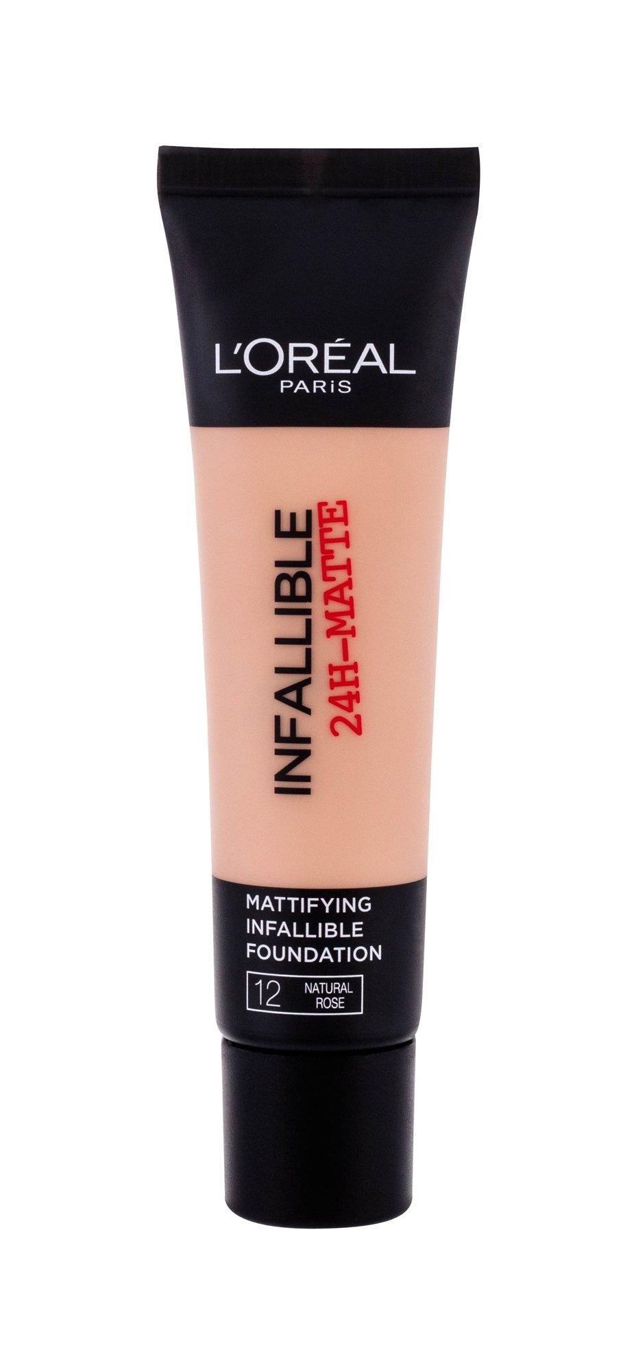 L´Oréal Paris Infallible Makeup 35ml 12 Natural Rose