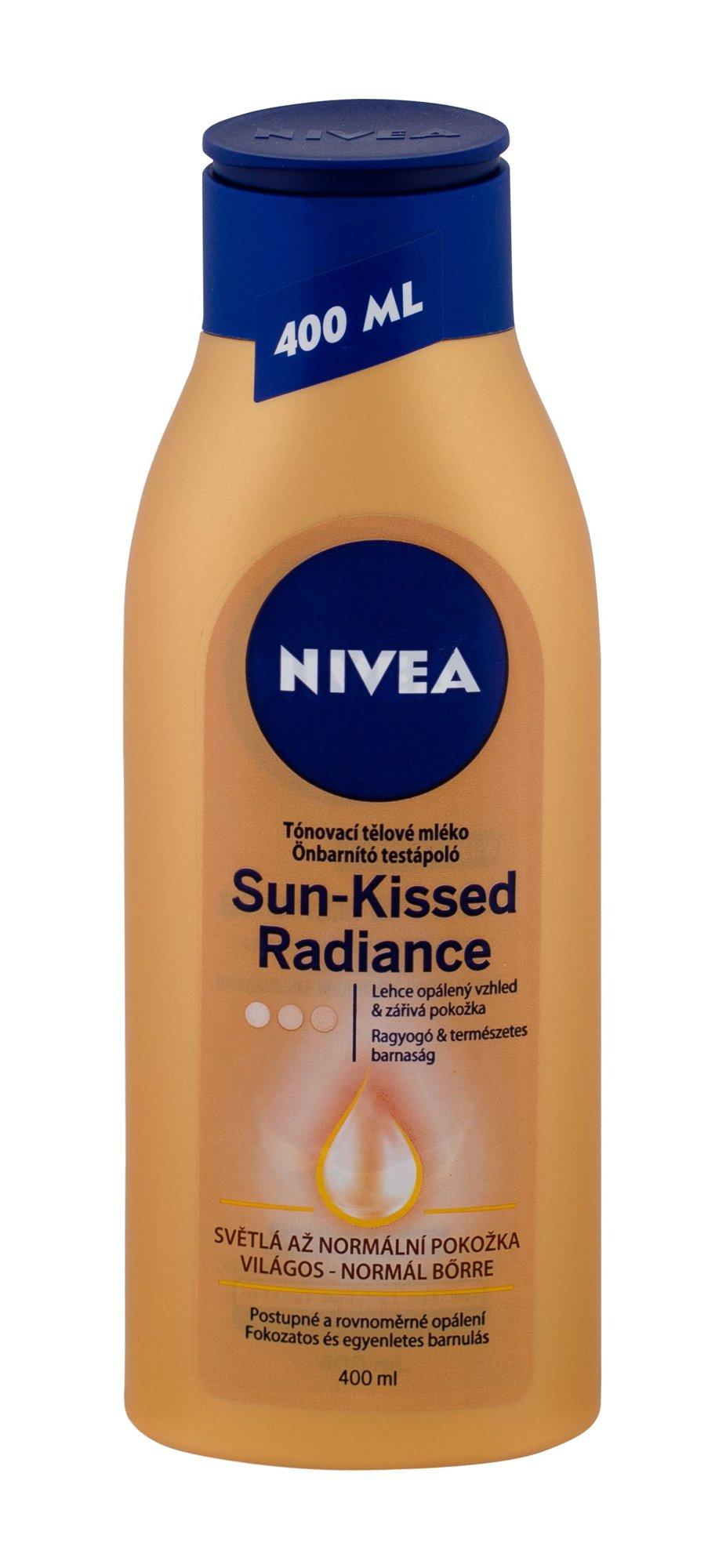 Nivea Sun-Kissed Radiance Self Tanning Product 400ml