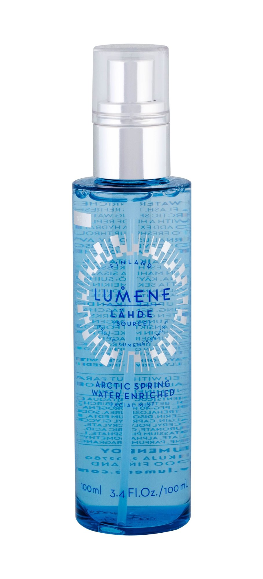 Lumene Lahde Facial Lotion 100ml  Arctic Spring Water Enriched
