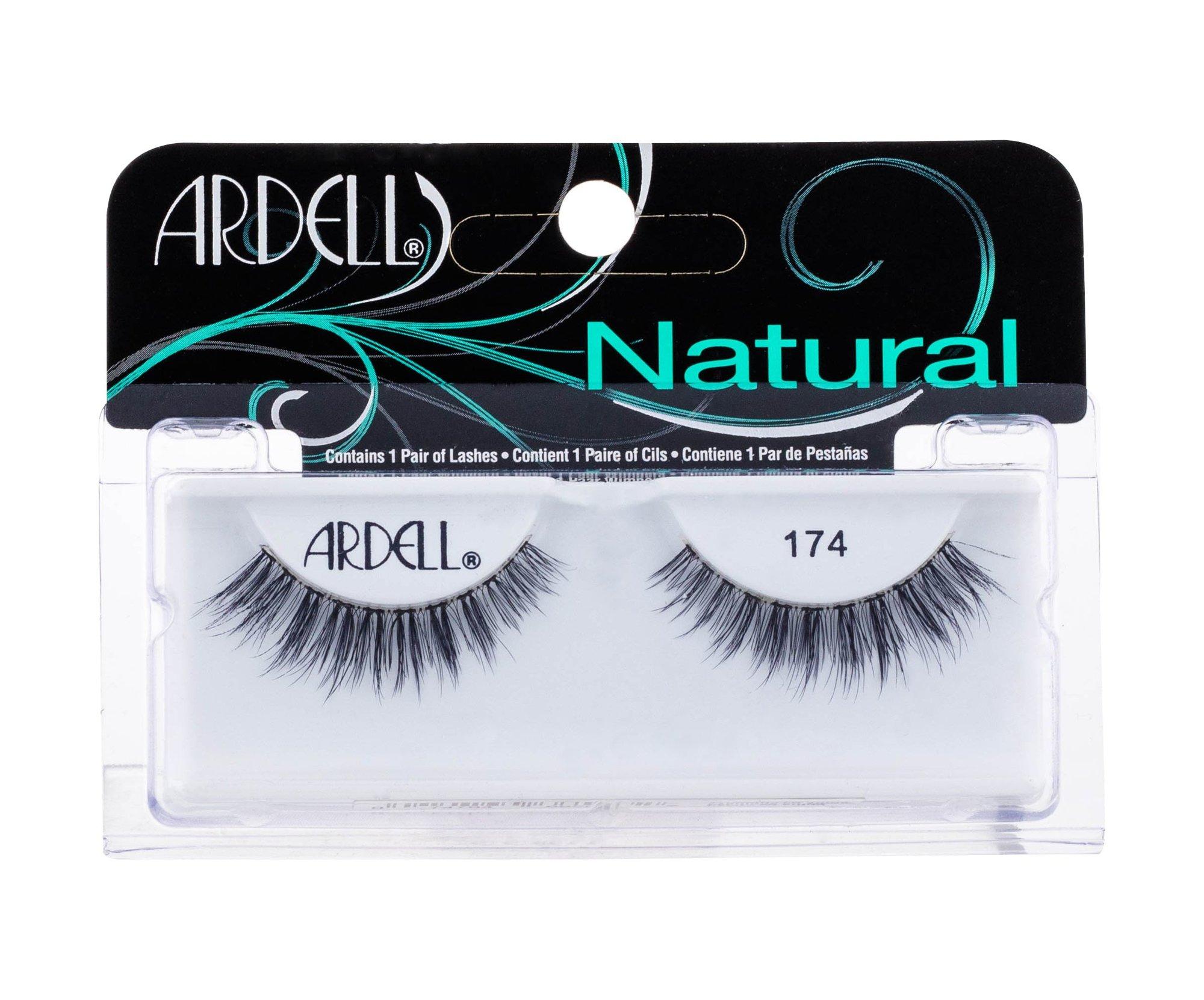 Ardell Natural False Eyelashes 1ml Black