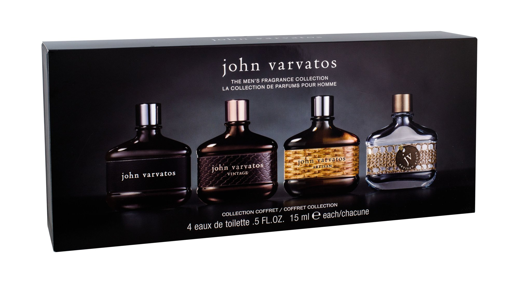 John Varvatos Mini Set Eau de Toilette 4x15ml