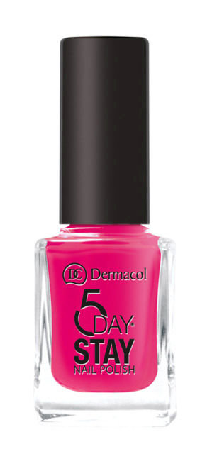 Dermacol 5 Day Stay Nail Polish 11ml 38 Cherry Blossom