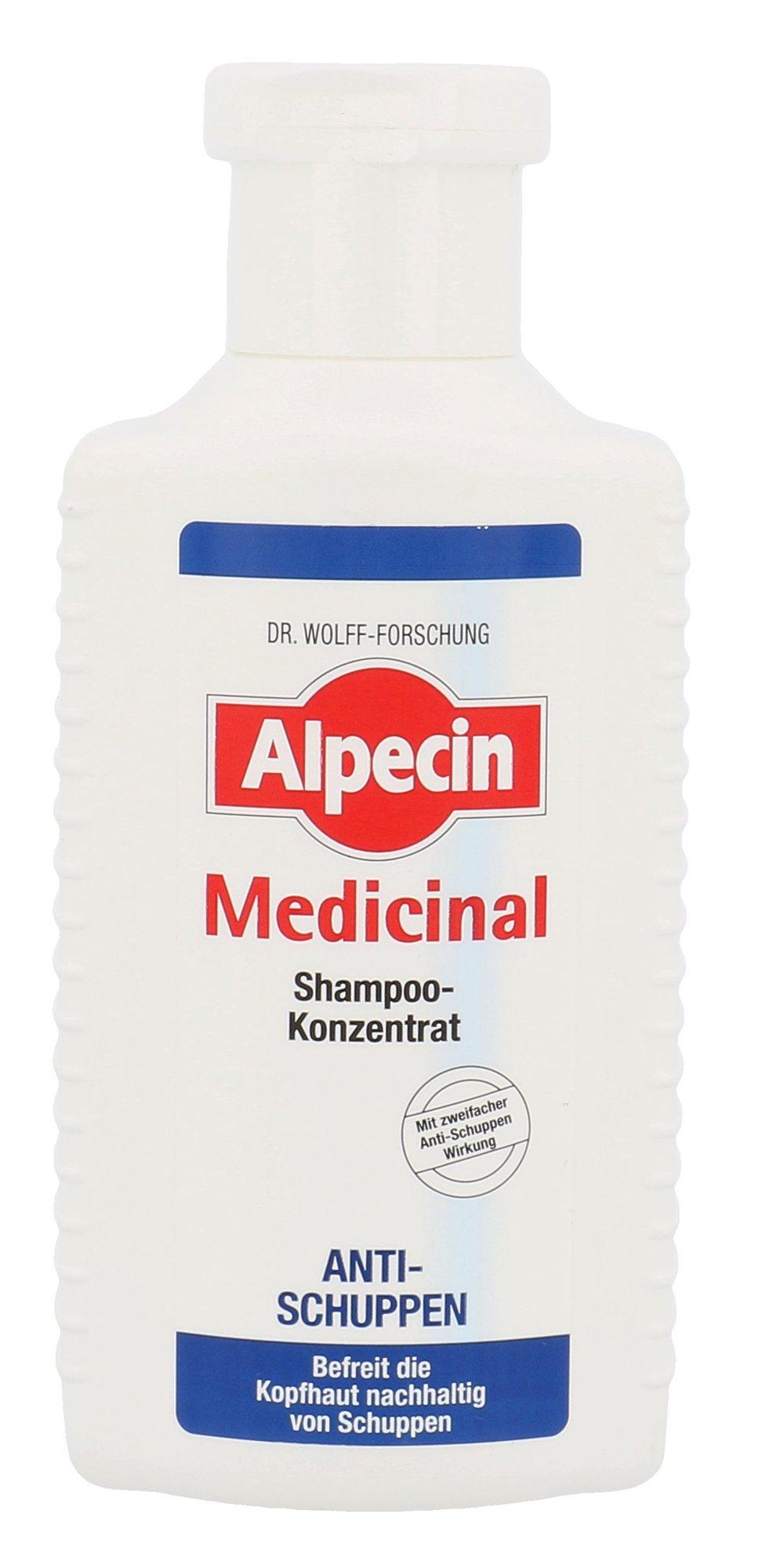 Alpecin Medicinal Shampoo 200ml  Shampoo Concentrate Anti-Dandruff