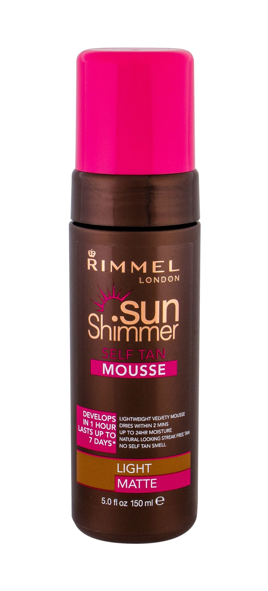 Rimmel London Sun Shimmer Self Tanning Product 150ml Light