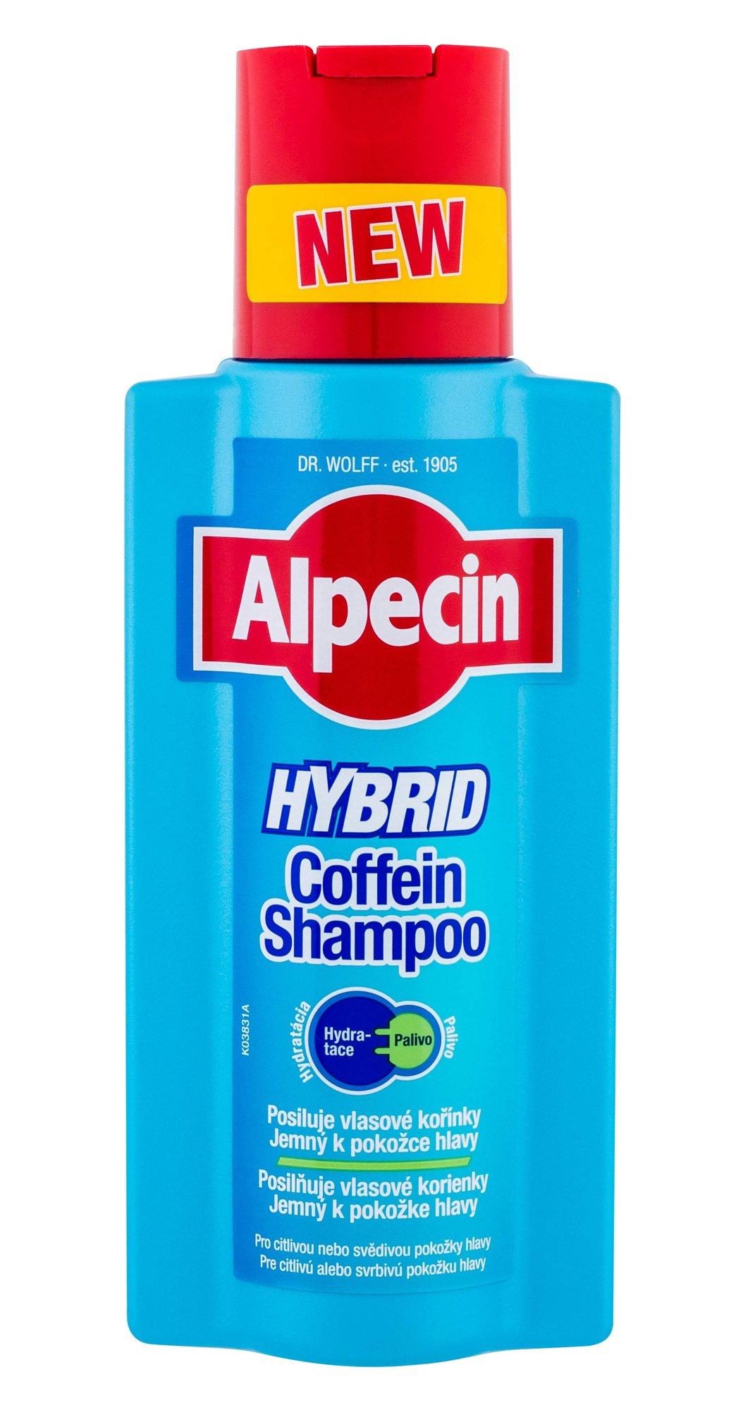 Alpecin Hybrid Coffein Shampoo Shampoo 250ml