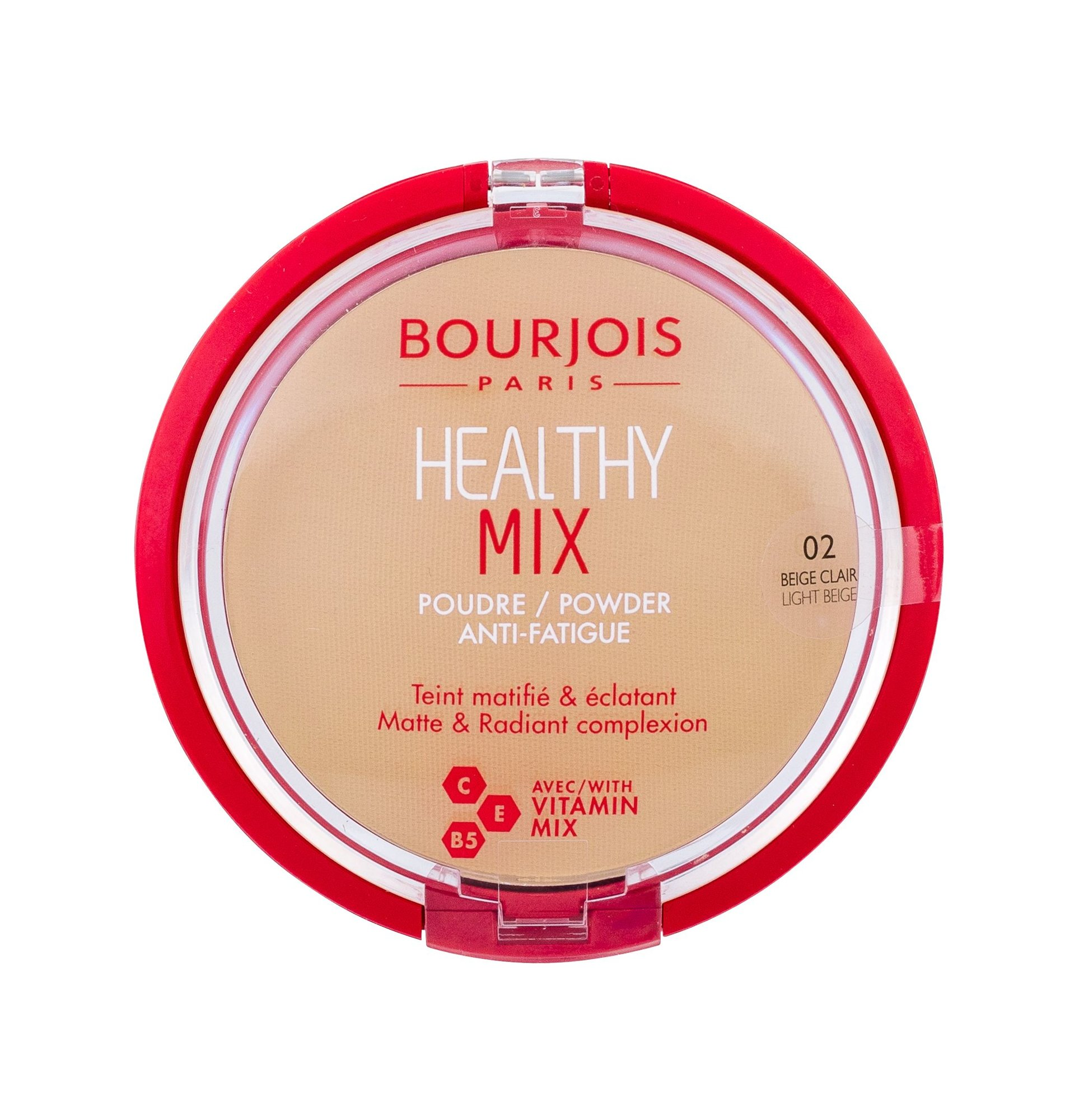 BOURJOIS Paris Healthy Mix Powder 11ml 02 Light Beige