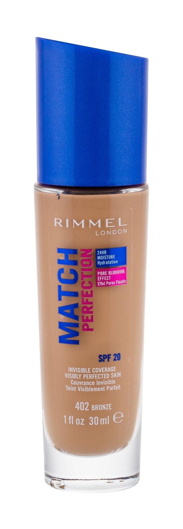 Rimmel London Match Perfection Makeup 30ml 402 Bronze