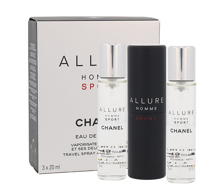 Chanel Allure Homme Sport Eau de Toilette 3x20ml