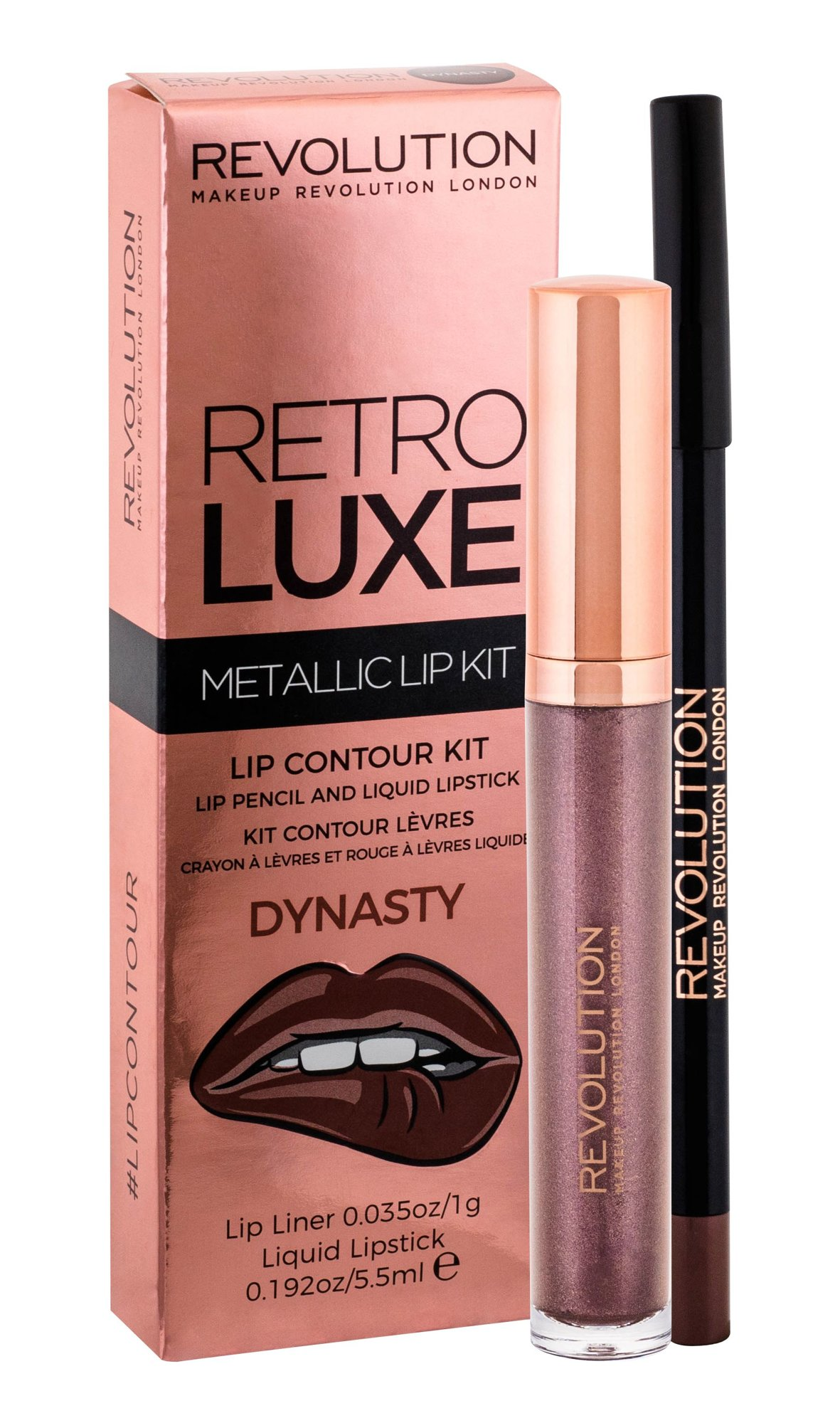 Makeup Revolution London Retro Luxe Lipstick 5,5ml Dynasty