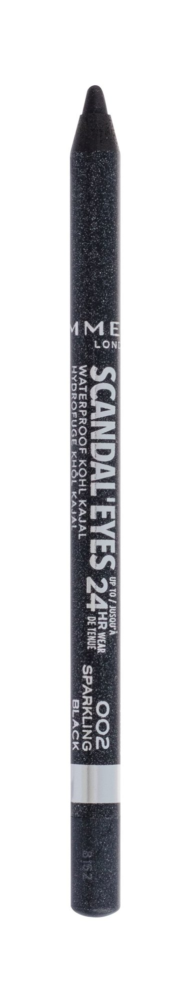Rimmel London Scandal Eyes Eye Pencil 1,3ml 002 Sparkling Black