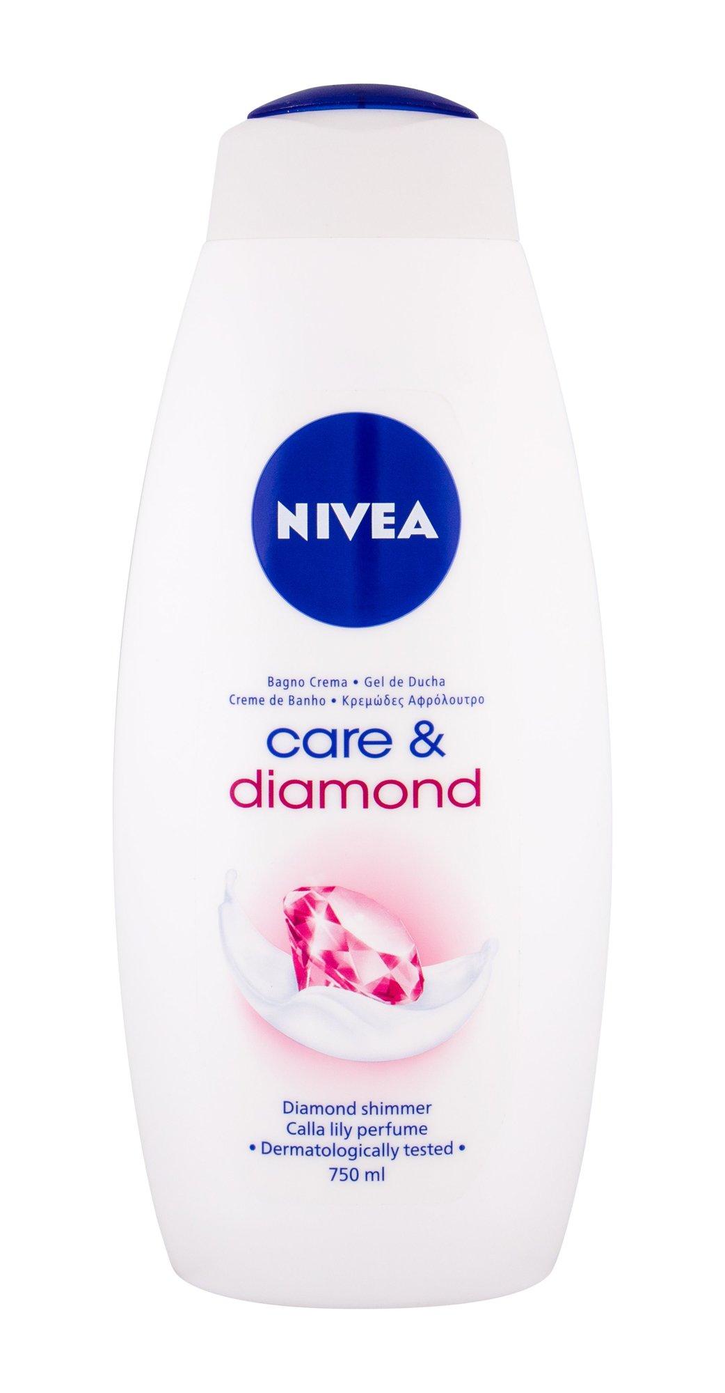 Nivea Care Shower Gel 750ml