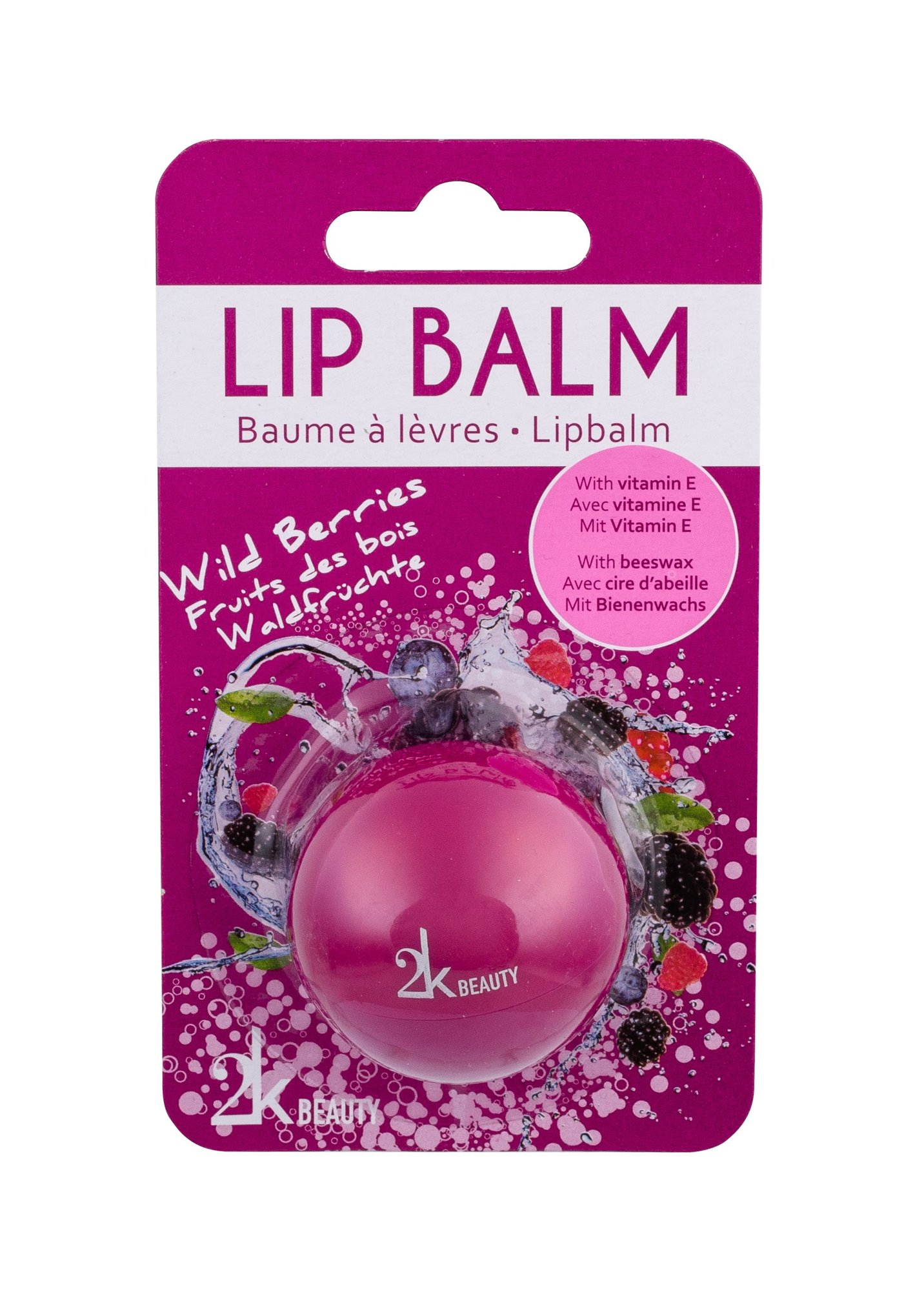 2K Beauty Lip Balm 5ml Wild Berries