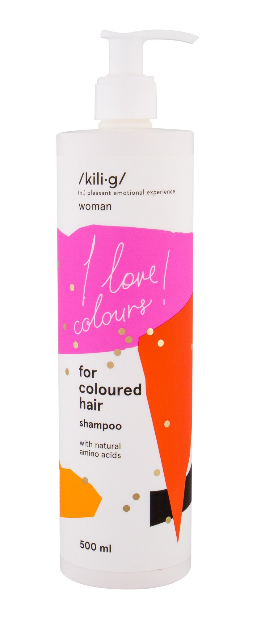 kili·g woman for coloured hair Shampoo 500ml