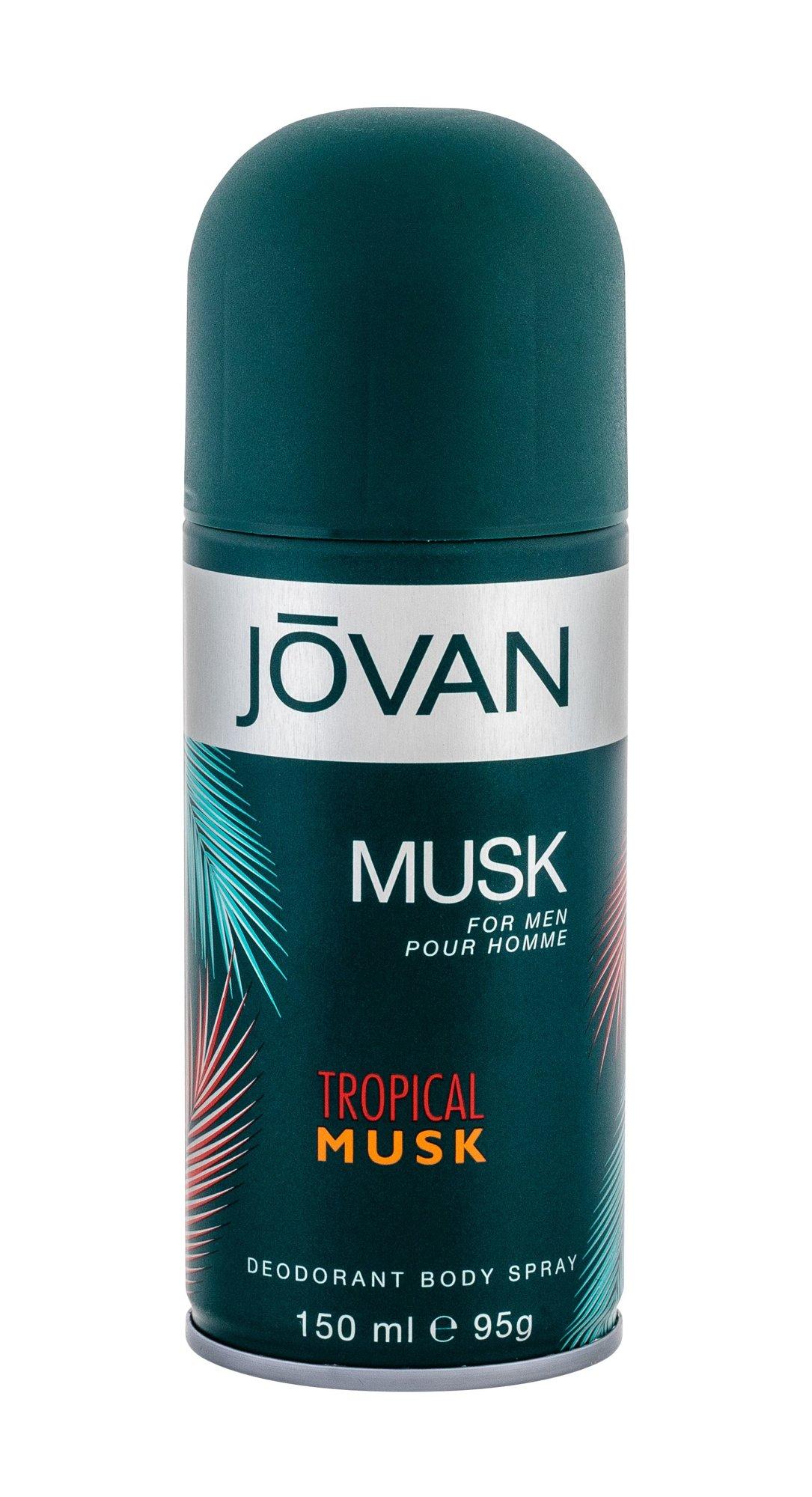 Jovan Tropical Musk Deodorant 150ml