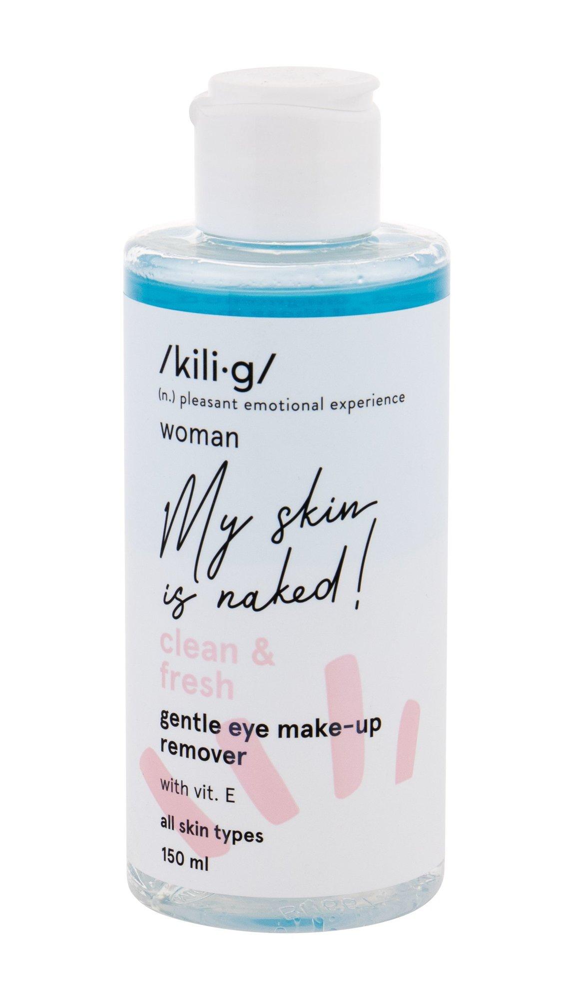kili·g woman clean & fresh Eye Makeup Remover 150ml