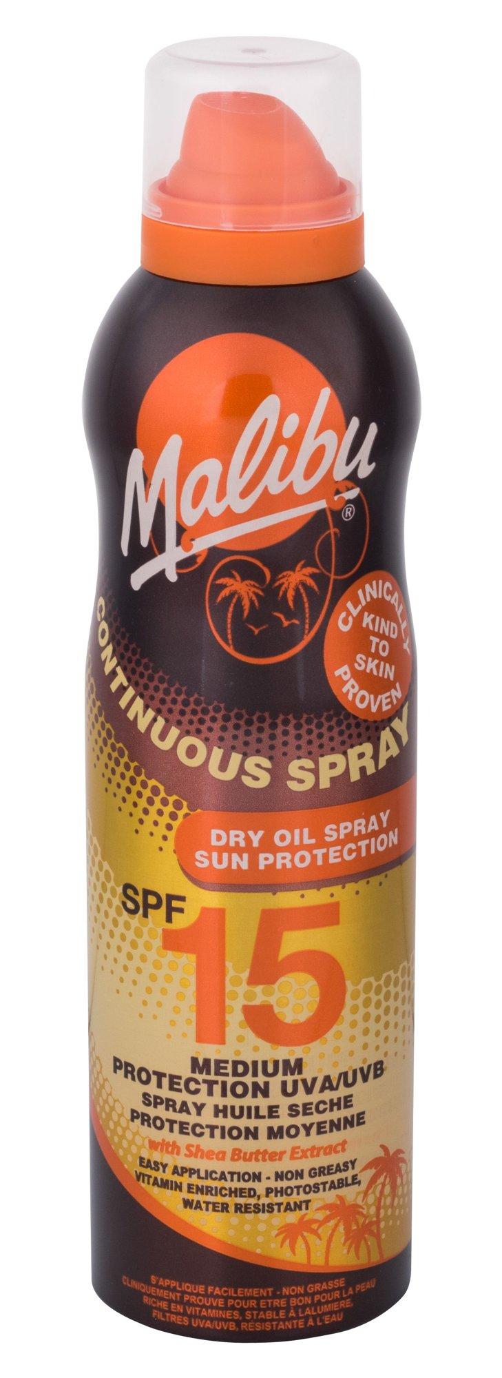 Malibu Continuous Spray Sun Body Lotion 175ml  Dry Oil