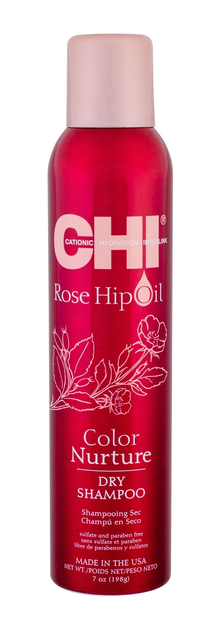 Farouk Systems CHI Rose Hip Oil Dry Shampoo 198ml
