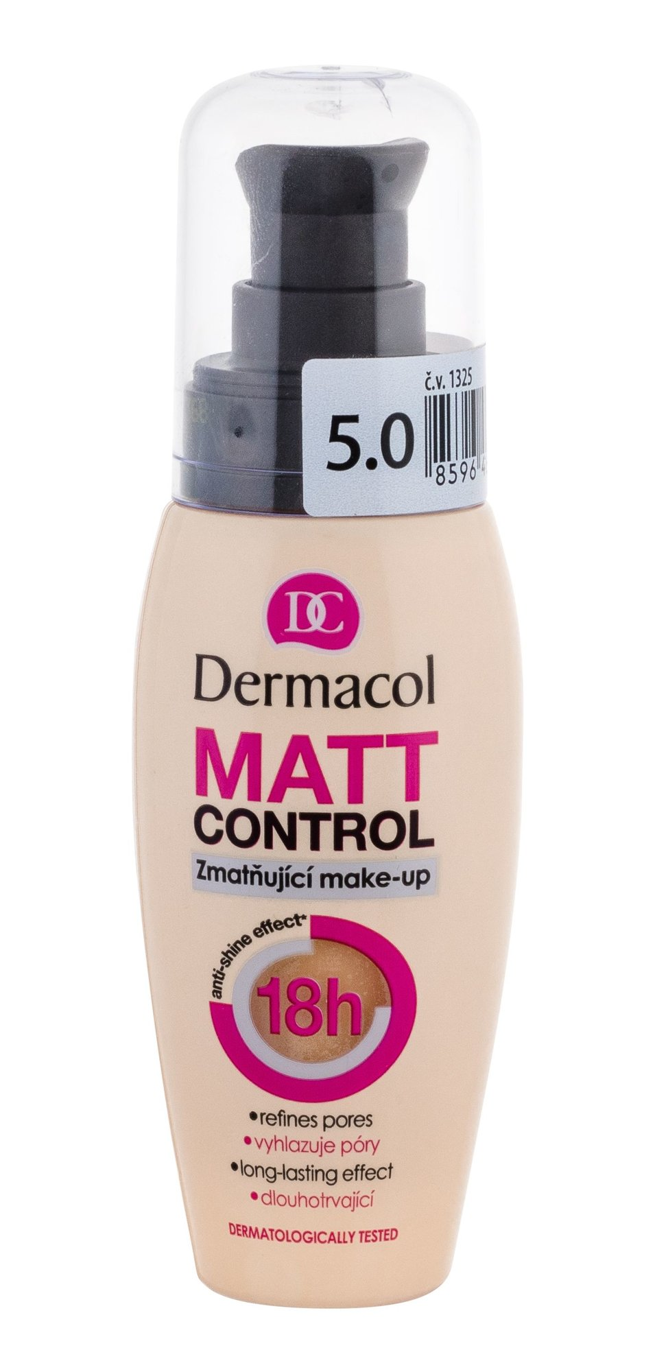 Dermacol Matt Control Makeup 30ml 5.0