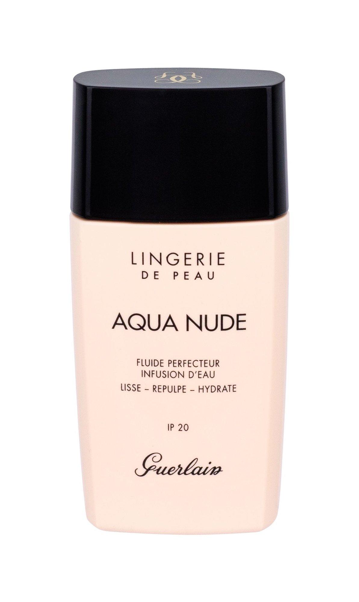 Guerlain Lingerie De Peau Makeup 30ml 01W Very Light Warm Aqua Nude