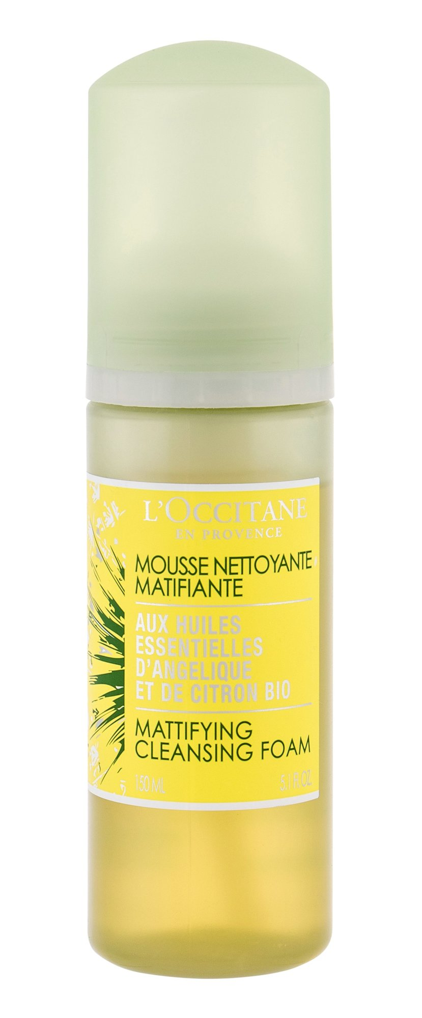 L´Occitane Angelica Cleansing Mousse 150ml  Lemon