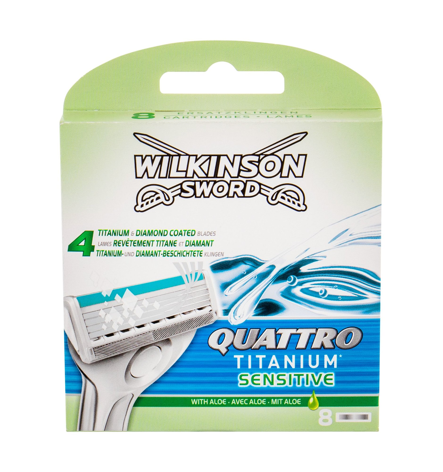 Wilkinson Sword Quattro Replacement blade 8ml