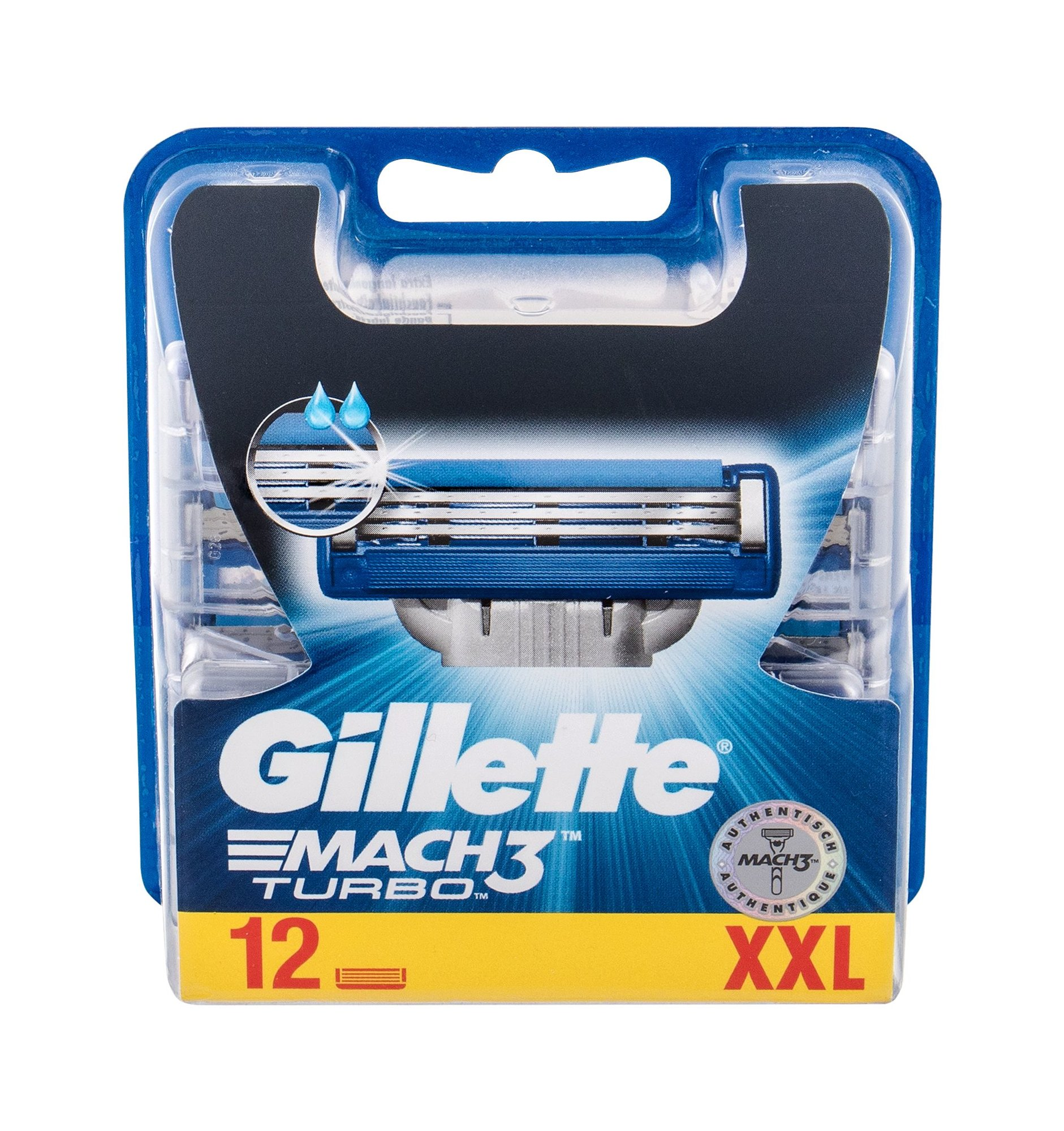 Gillette Mach3 Turbo Replacement blade 12ml