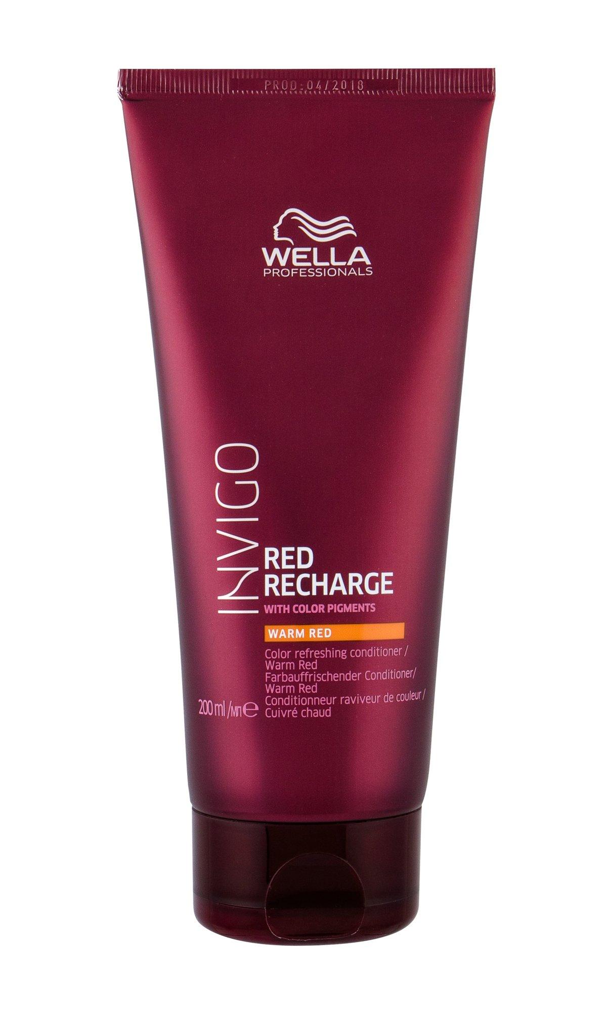 Wella Invigo Conditioner 200ml Warm Red