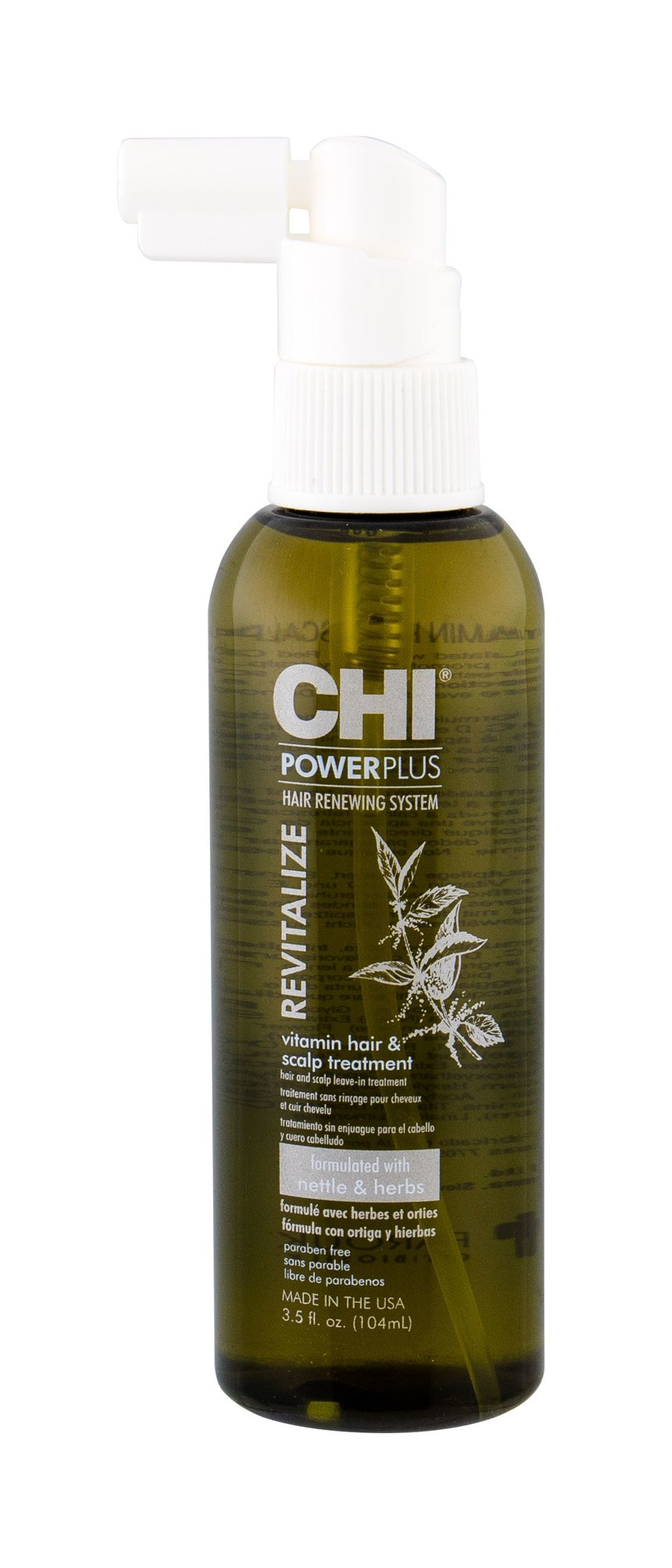 Farouk Systems CHI Power Plus Hair Oils and Serum 104ml