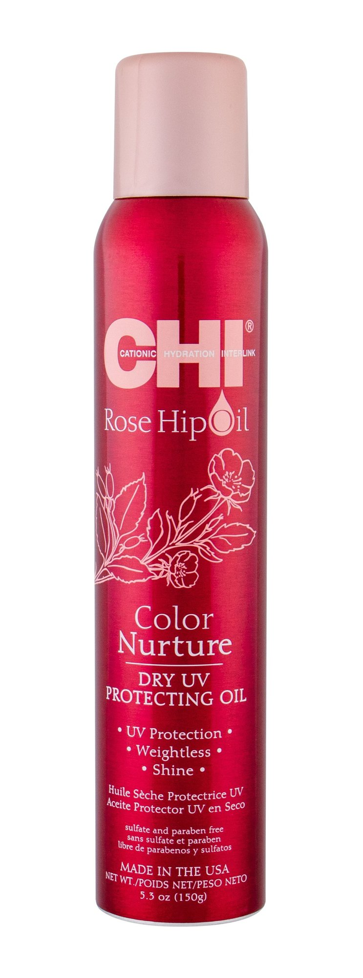Farouk Systems CHI Rose Hip Oil Hair Oils and Serum 150ml