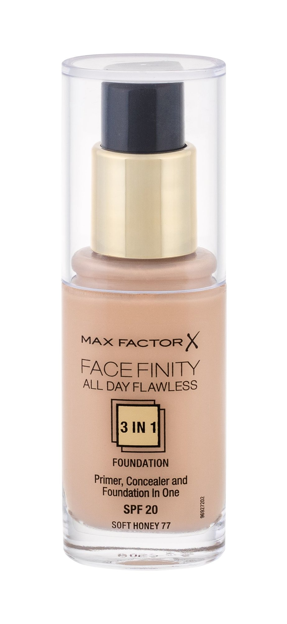 Max Factor Facefinity Makeup 30ml 77 Soft Honey