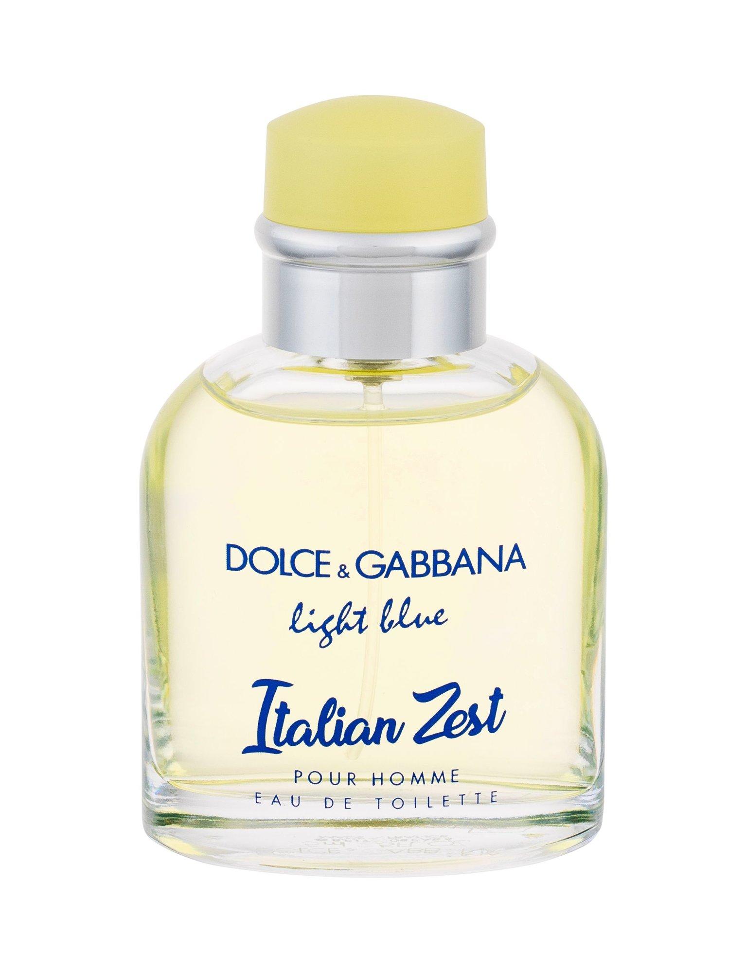Dolce&Gabbana Light Blue Italian Zest Pour Homme Eau de Toilette 75ml