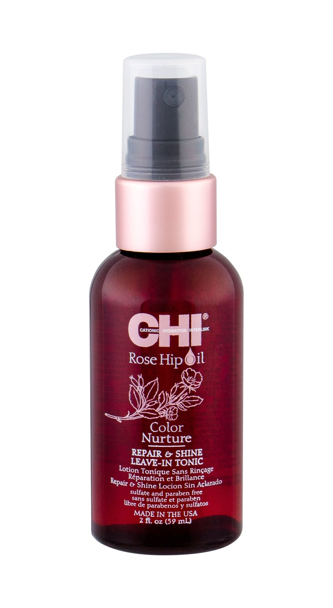 Farouk Systems CHI Rose Hip Oil Leave-in Hair Care 59ml