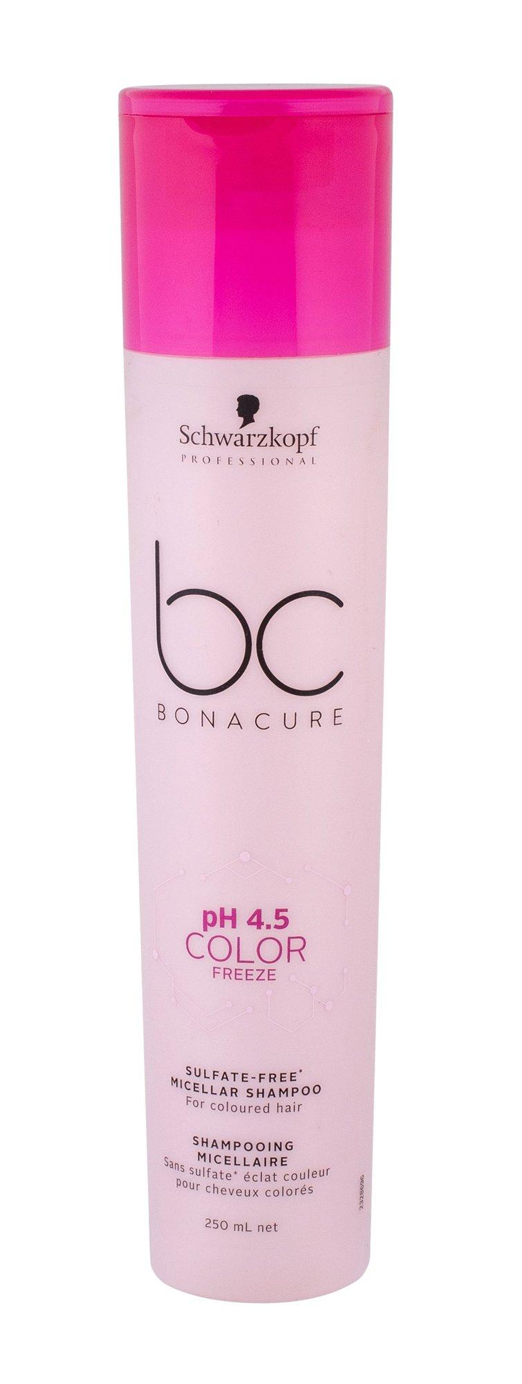 Schwarzkopf Professional BC Bonacure pH 4.5 Color Freeze Shampoo 250ml