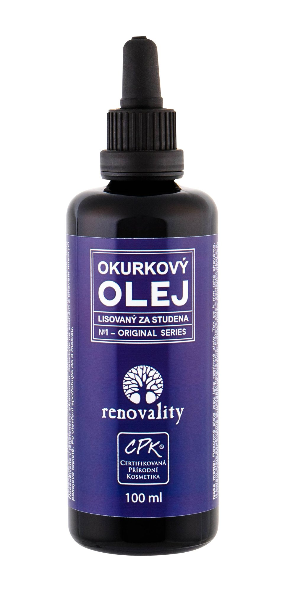 Renovality Original Series Body Oil 100ml  Cucumber Oil