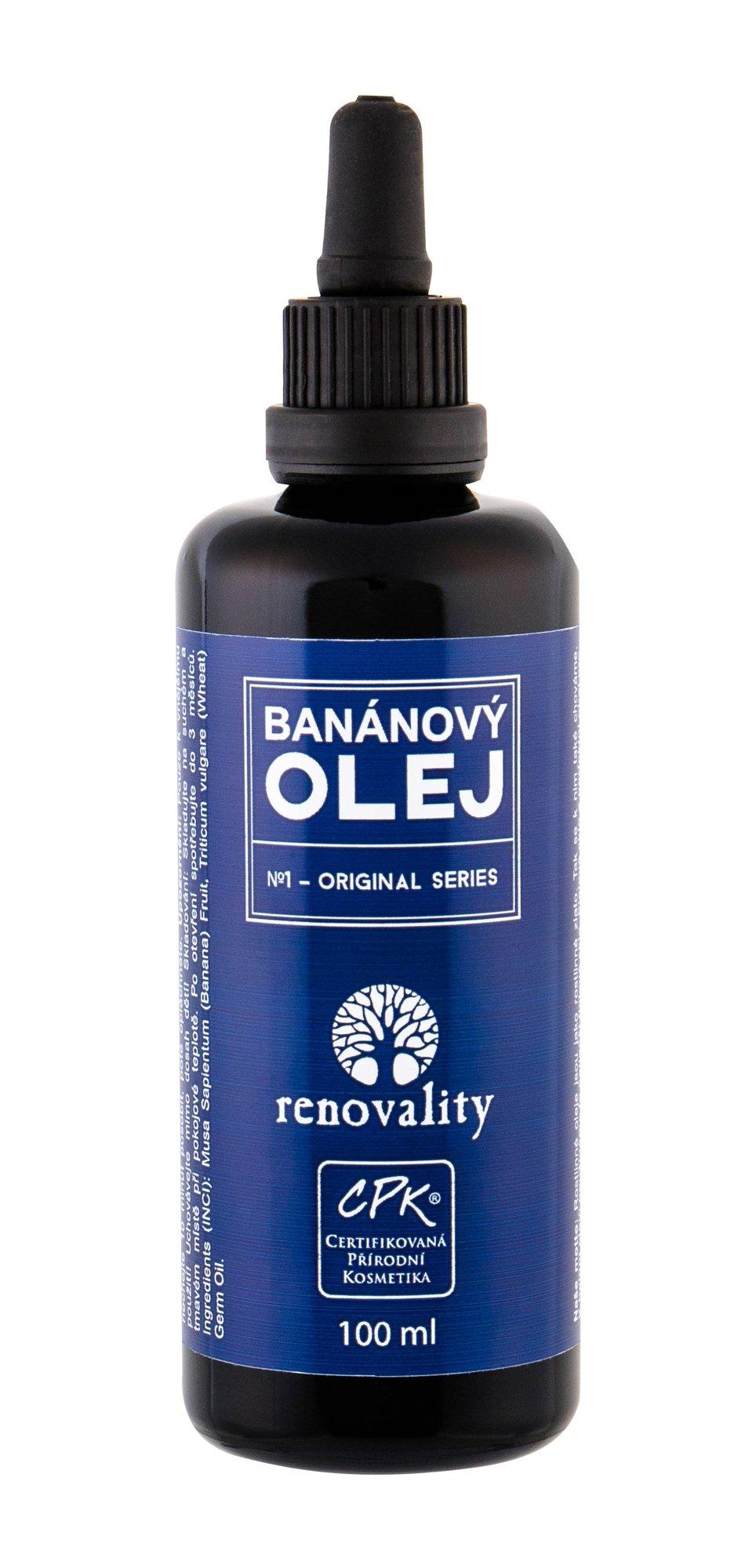 Renovality Original Series Body Oil 100ml  Banana Oil