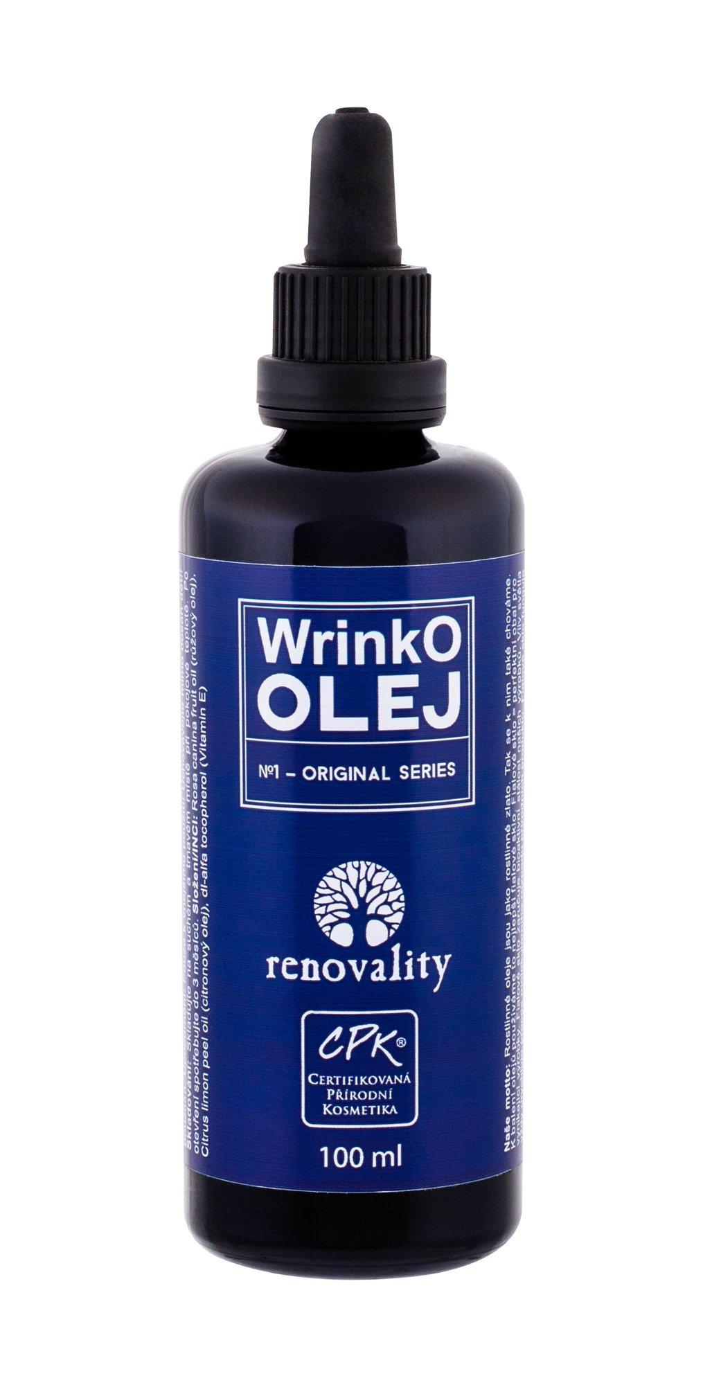 Renovality Original Series Massage Oil 100ml  WrinkO Oil