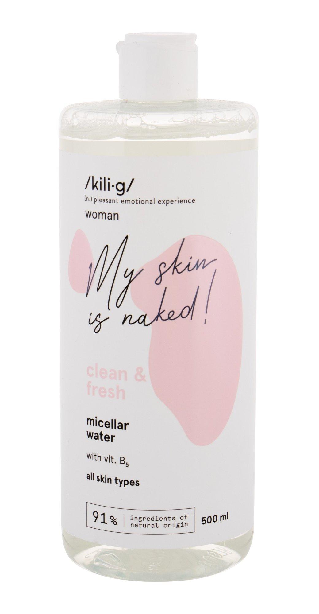 kili·g woman clean & fresh Micellar Water 500ml