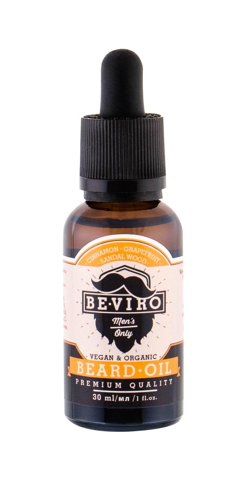 Be-Viro Men´s Only Beard Oil 30ml Grapefruit, Cinnamon, Sandal Wood