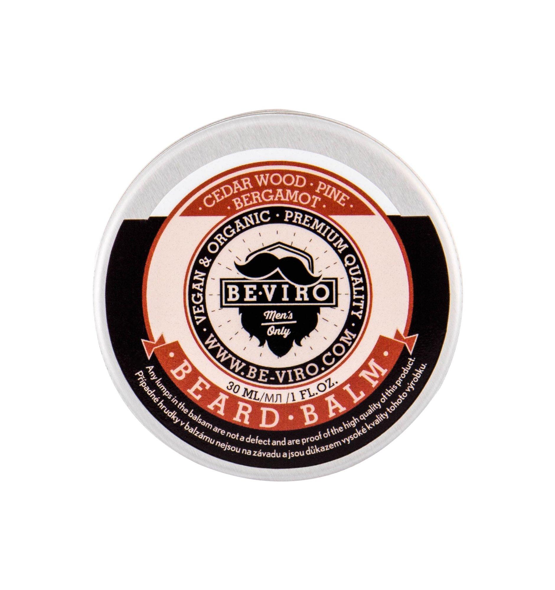 Be-Viro Men´s Only Beard Care 30ml Cedar Wood, Bergamot, Pine Beard Balm