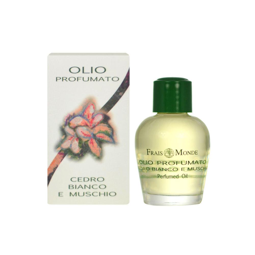 Frais Monde White Cedar And Musk Perfumed Oil 12ml