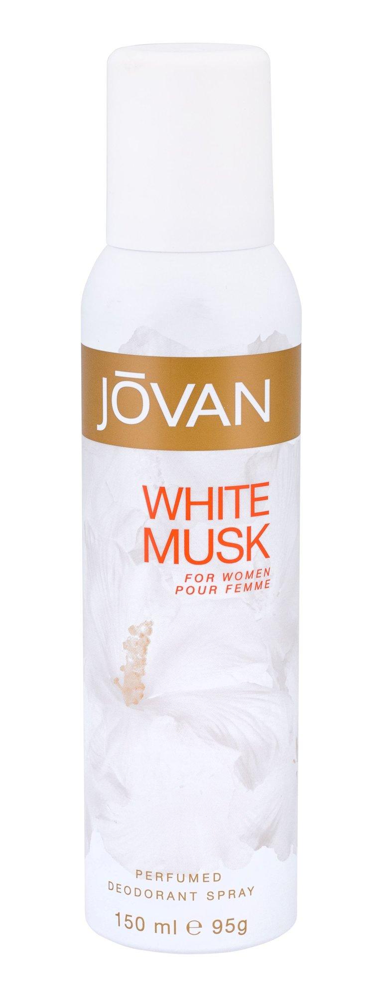 Jovan Musk White For Women Deodorant 150ml