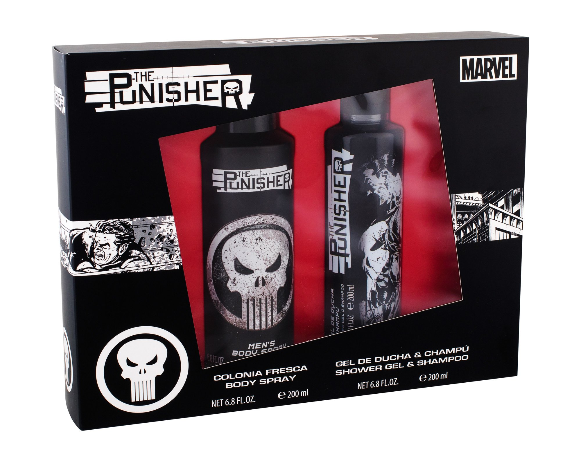 Marvel The Punisher Shower Gel 200ml