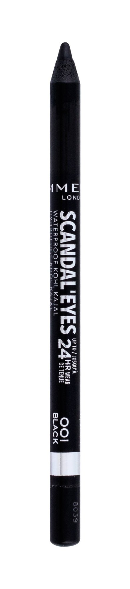 Rimmel London Scandal Eyes Eye Pencil 1,3ml 001 Black